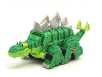 Купить с кэшбэком alloy car models Dinotrux red dinosaur toy car truck