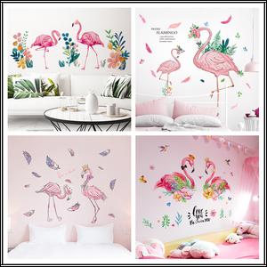 [shijuekongjian] Flamingo Wall