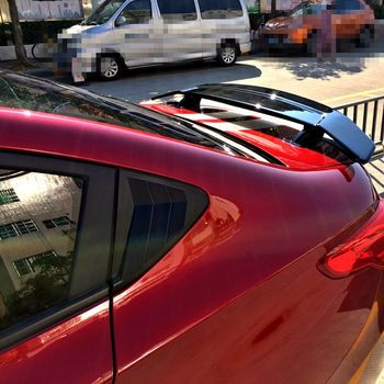 For Chevrolet Cavalier 2017 ABS Material With LED LAMP Primer Color Car Tail Wing Decoration Rear trunk Spoiler