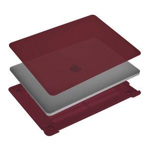 Image 4 - MOSISO ل جديد كمبيوتر صغير هوائي ماك بوك برو الشبكية 13 15 حالة 2018 مع اللمس بار و لوحة المفاتيح غطاء كريستال ماتي الصلب جراب للماك بوك A1932