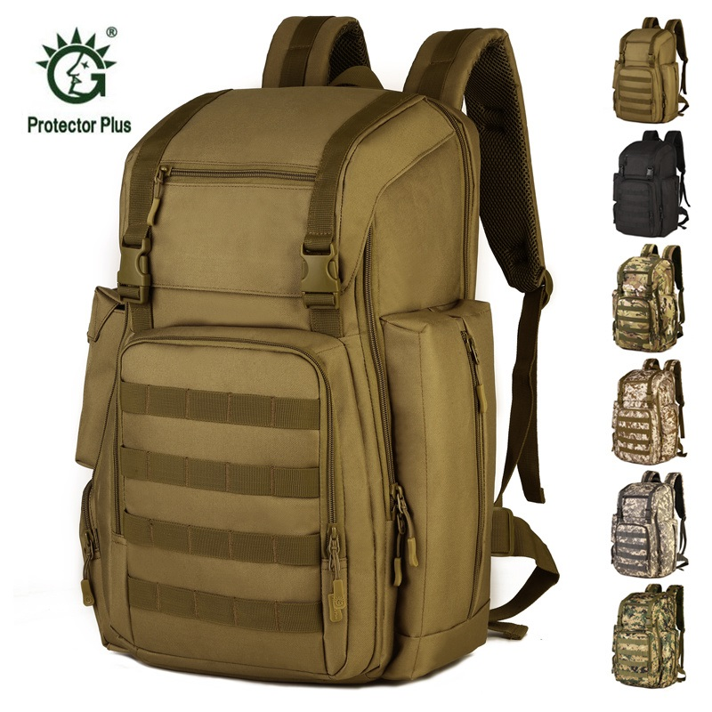 Military Bag 40L Tactical Assault Pack Backpack Army Molle Waterproof Bug Out Bag Big Rucksack Outdoor Hiking Camping Hunting 2018 hot a military tactical assault pack backpack army molle waterproof bag small rucksack for outdoor hiking camping hunting