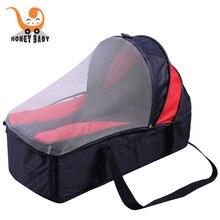 Newborn baby portable cabarets ultra-light can storage baby child portable crib sleeping bag