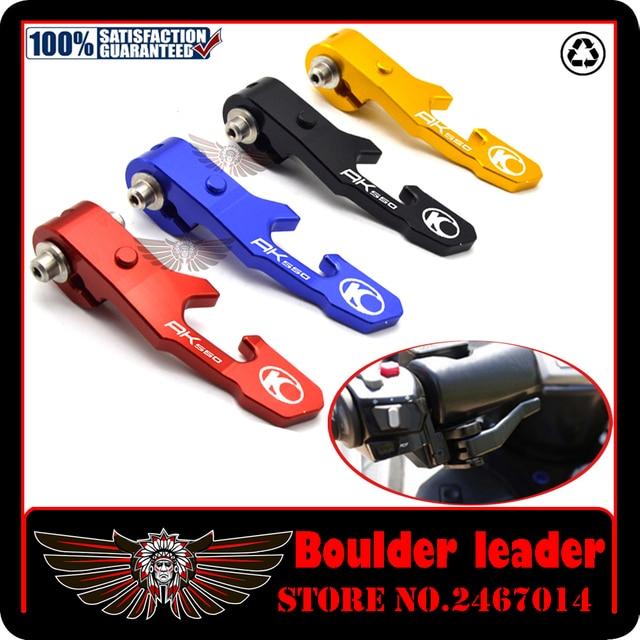 Motorcycle Accessories Hand Brake Lever Motorbike Parking Brake Levers For KYMCO AK550 AK 550 2017-2018