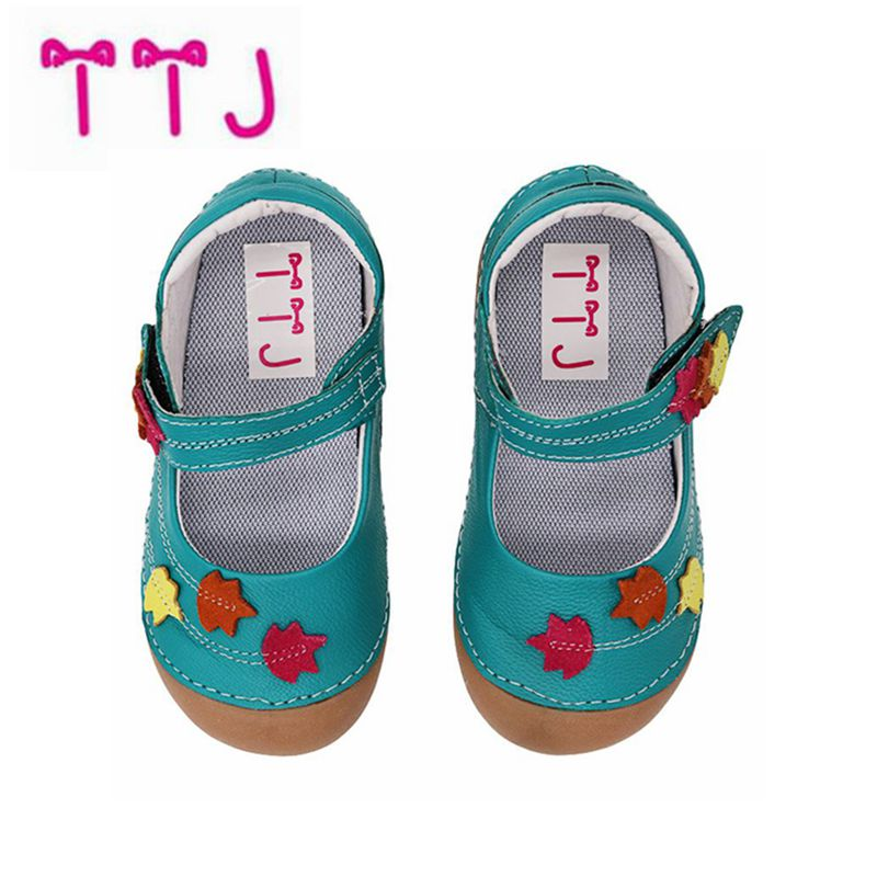 TTJ Brand Casual Baby Kid Toddler Shoes Moccasins For Girls 2018 Autumn Spring Fashion Nmd Sneakers Yeezys Burbry Leather