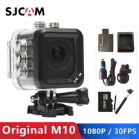 Имеются на складе! Оригинальная SJCAM M10 Спортивная Экшн-камера Камера Full HD 1080 P камера для дайвинга на глубину до 30 м Водонепроницаемый Камера ...