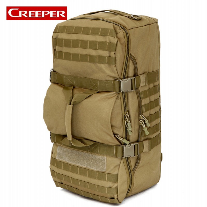 60L Outdoor Camping Large Capacity Sport Backpacks Shoulder Bag Hiking Backpack Athletic Sport Men Travel Bag Tactical Backpack new arrival 38l military tactical backpack 500d molle rucksacks outdoor sport camping trekking bag backpacks cl5 0070