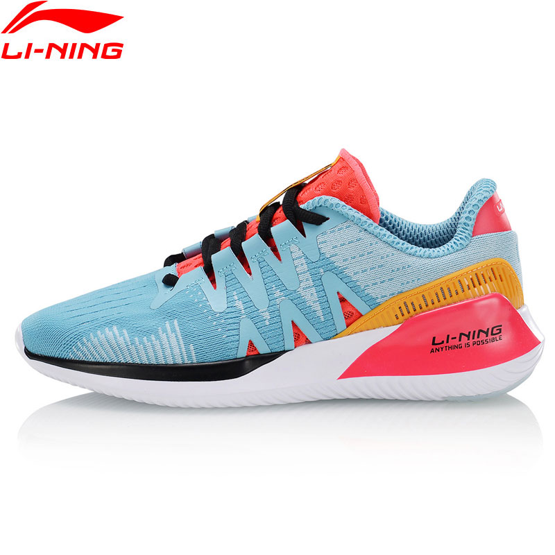 Li-Ning Women ACE RUN Cushion Running Shoes Breathable LiNing Li Ning Lightweight Sport Shoes Sneakers ARHP044 XYP915