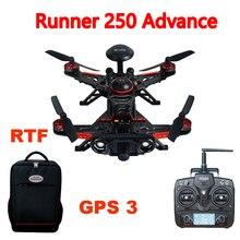 ( en la acción ) Walkera Runner 250 avance Runner 250 (r) sistema GPS RC Quadcopter con DEVO 7 / OSD / cámara / mochila RTF GPS 3 versión