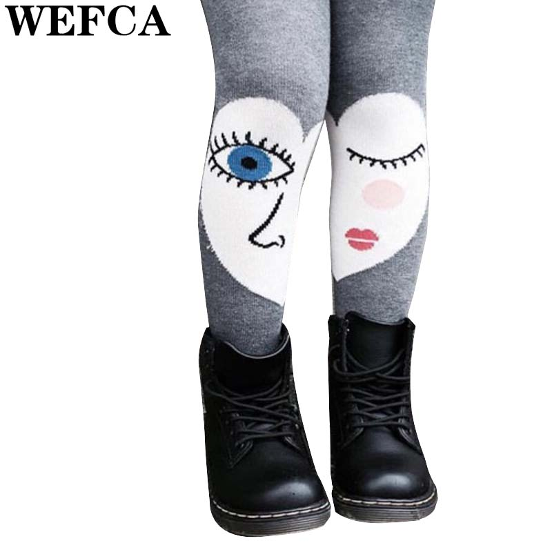 Unique Design Tights for Girls Fashion Little Girl Pantyhose Toddler Big Eyes Cotton Stocking