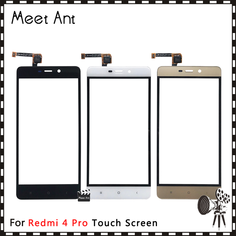 AAA High Quality 5.0'' For Xiaomi Redmi 4 / 4 Pro / 4A / 4X Touch Screen Digitizer Sensor Outer Front Glass Lens Panel