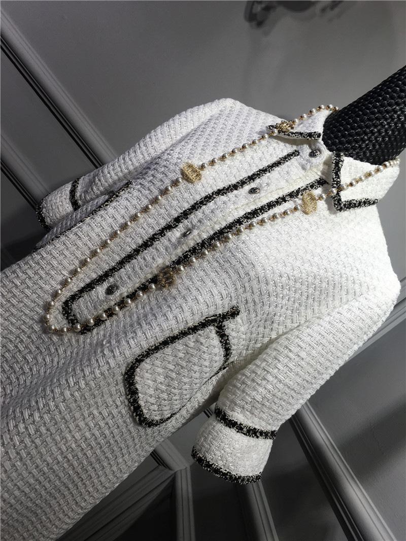 women elegant office dress,custom plus size xs-6xl,tweed winter dress,ladies vestidos de fiesta,tweed autumn White dress 12