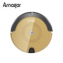 Arnagar Q2 робот пылесос, большой мусоросборник, бытовой робот уборщик для очистки пыли, ИК пульт дистанционного управления, ручная зарядка