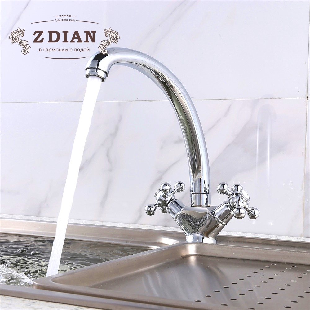 kitchen sink faucet kitchen mixer water mixer taps Brass kitchen faucet tap water tap kitchen bathroom faucet