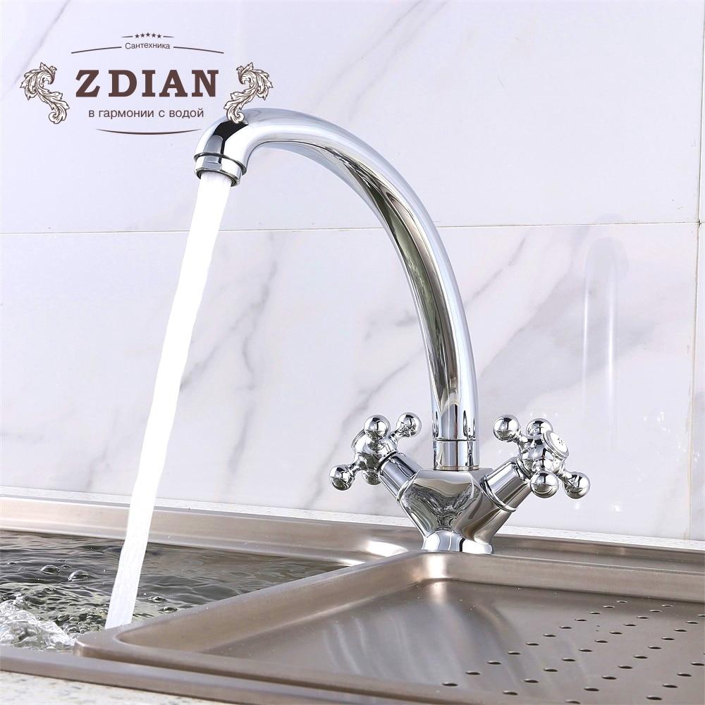 kitchen sink faucet kitchen mixer water mixer taps Brass kitchen faucet tap water tap kitchen bathroom faucet
