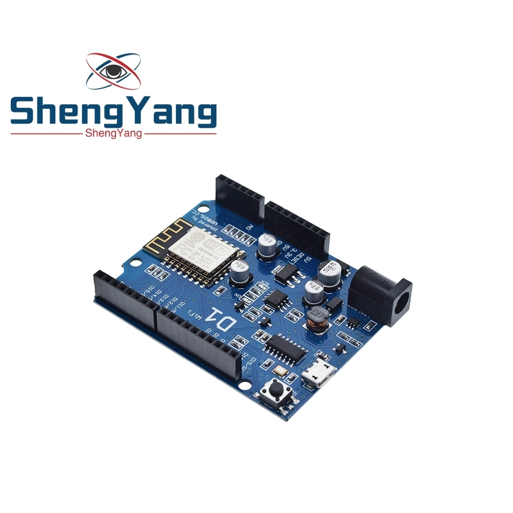 32 Mb Flash Board For Arduino UNO R3 WeMos D1 R2 Analog WiFi CH340 ESP8266