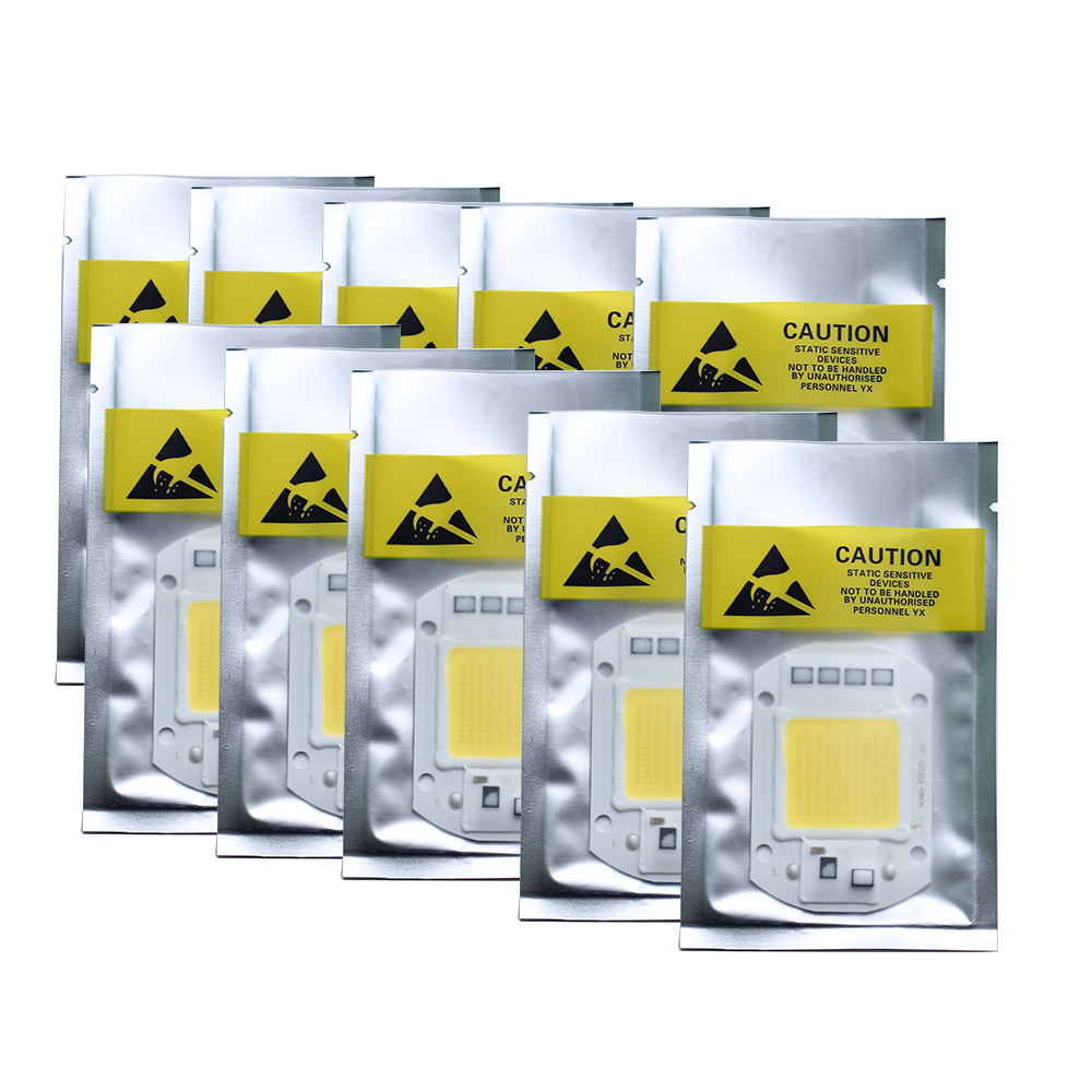 10PCS High Power 20W 30W 50W COB Light No need Driver Smart IC LED COB Chip for DIY Project Spotlight Flood light