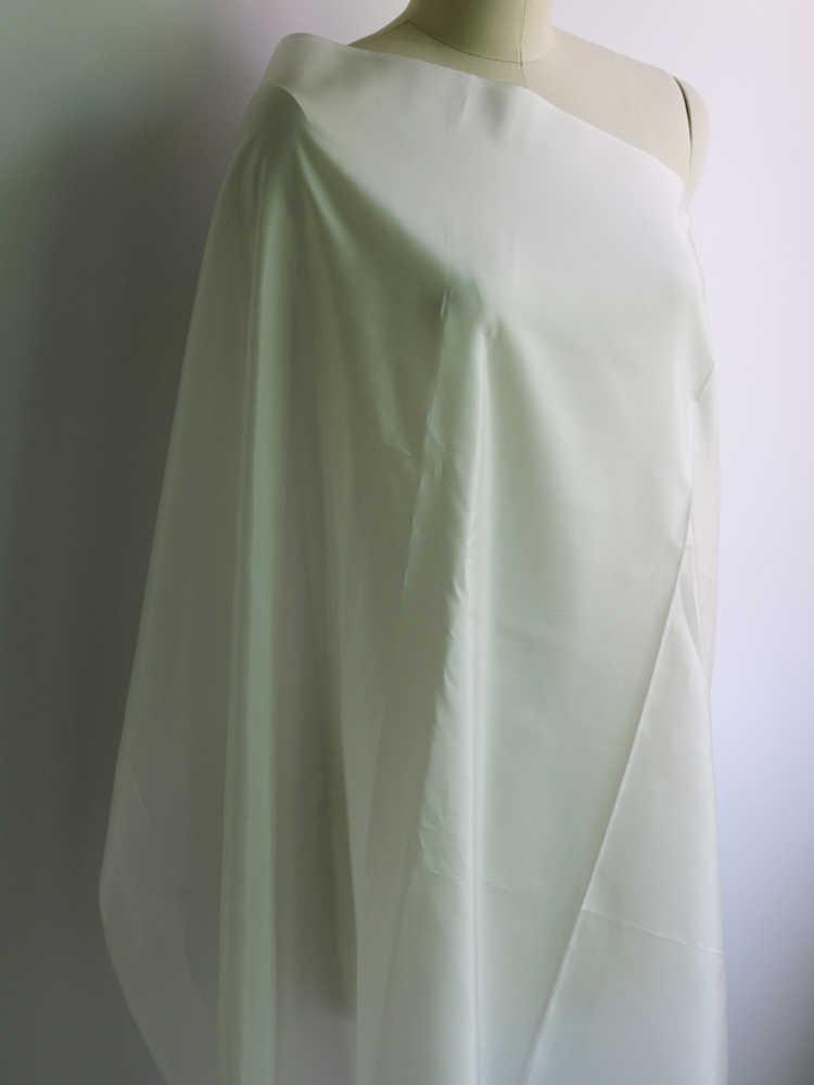 سوبر صفقة 12 مومي مادة الحرير الأبيض الطبيعي لينة هابوتاي بطانات 100% التوت الحرير النسيج هابوتاي