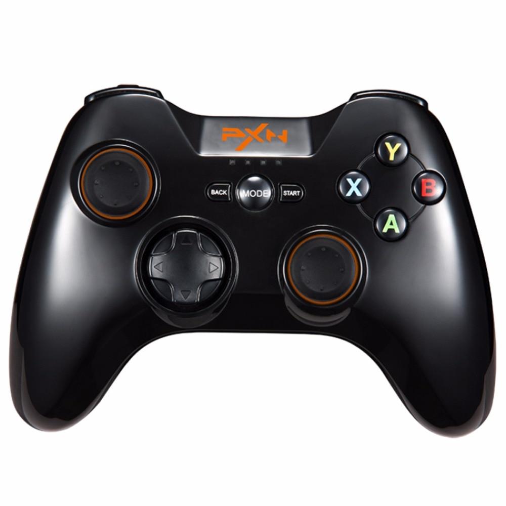 Meilleures offres Pxn 9613 contrôleur de jeu sans fil Bluetooth poignée Portable support manette pour Pc tablette Android Smartphone Tv Box