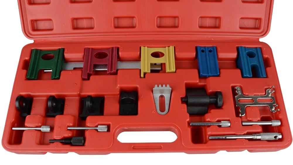 Universal Engine Timing Chain Camshaft Flywheel Locking Tool Set Kit 19 Pcs Engine Timing Belt