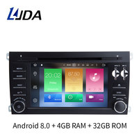 LJDA 7 Inch Two Din Android 8 0 Car DVD Player For Porsche Cayenne 2003 2010