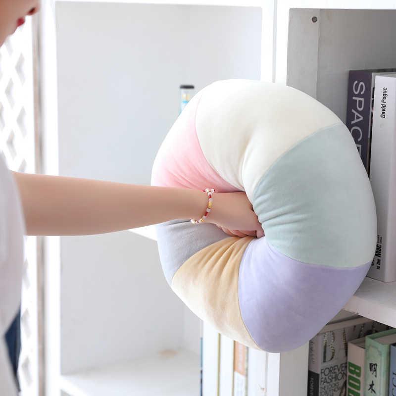 キャンディーカラークラウドスタームーン虹枕ラウンド形状ぬいぐるみソフトボール枕クッションホームソファインテリア枕ギフトのため友人