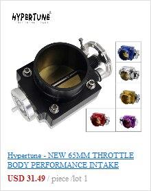 Hypertune-novo corpo do acelerador 70mm desempenho do