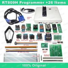 RT809H EMMC Nand FLASH Programmeur + 26 Iterms Met Kabels EMMC Nand Gratis verzending