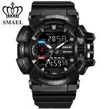 Newest shock digital analog watches men women LED electronic Day 50m dive army G type sport watch relogio masculino feminino