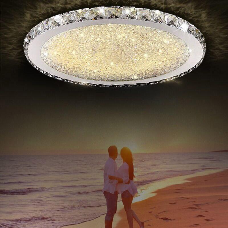 цена Modern LED dome light top living room dining room lighting bedroom atmosphere creative crystal lamp room home ceiling lamp