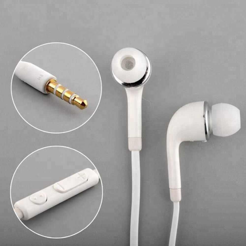 スポーツイヤホン J5 麺 3.5 ミリメートル有線イヤホンで耳ステレオラインハン三星電子ギャラクシー S5 Note2 xiaomi iphone