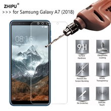 2.5D 0.26mm 9H Premium Tempered Glass For Samsung Galaxy A7 (2018) Screen Protec