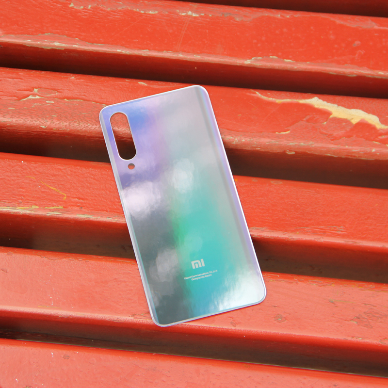 Xiao Mi Xiaomi Mi Original Glass Battery Rear Case For Xiaomi MI 9 SE M9SE MI9SE MI9 SE Back Cover Backshell Back Cover Tool in Half wrapped Cases from Cellphones Telecommunications