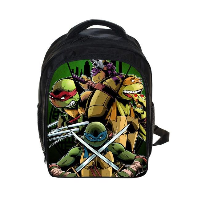 Kids Anime Teenage Mutant Ninja Turtles Backpack Children School Bags Boys Girls Daily Backpacks Book Bag Best Gift Backpack Bag