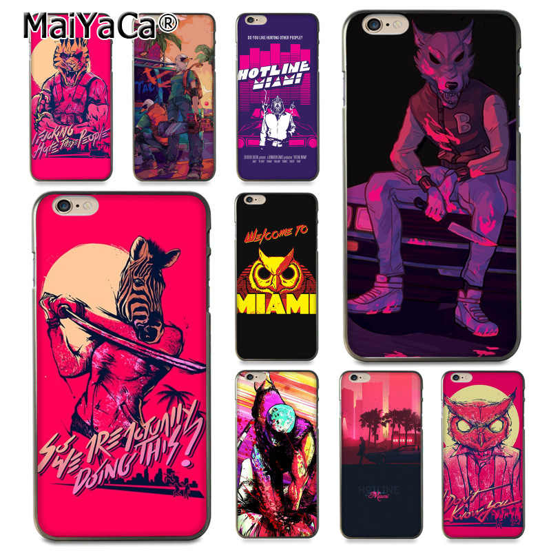 MaiYaCa For iphone 7 6 X Hotline Miami 2 Wrong Number on Steam Owl Coque Shell Phone Case for iPhone 8 7 6 6S Plus X XS XR SE 5C