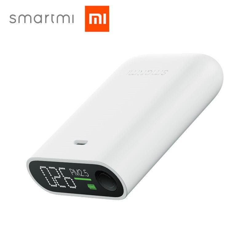 Xiaomi Mijia Smartmi PM2.5 Luft Detektor Tragbare Empfindliche Mijia Air Qualität Tester Led-bildschirm Drei-farbe Digital Anzeige