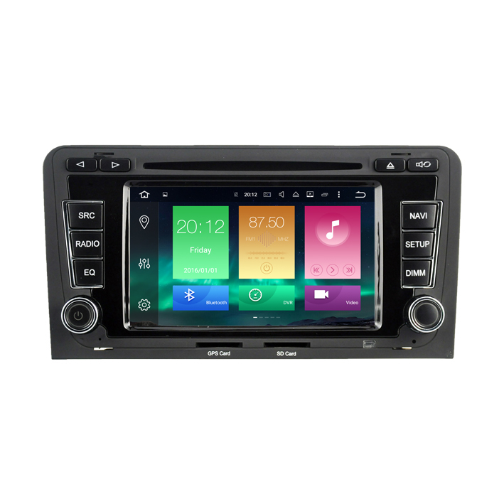 Android 6.0 Car dvd Radio GPS Media autoradio Player For A3/S3/RS3 (2003-2012) 2Gb+32Gb PX5 8-Core