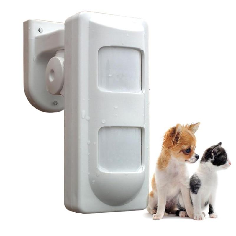 ФОТО Wired Dual PIR&Microwave Outdoor Sensor PIR Motion Detector,Waterproof Pet Panel,For Home Burglae Alarm System PIR-05