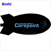 AO01 BENAO 6m Cheap Giant Advertising Helium Blimp With Logo Printing, Custom Inflatable Airship, Air Plane For Activity