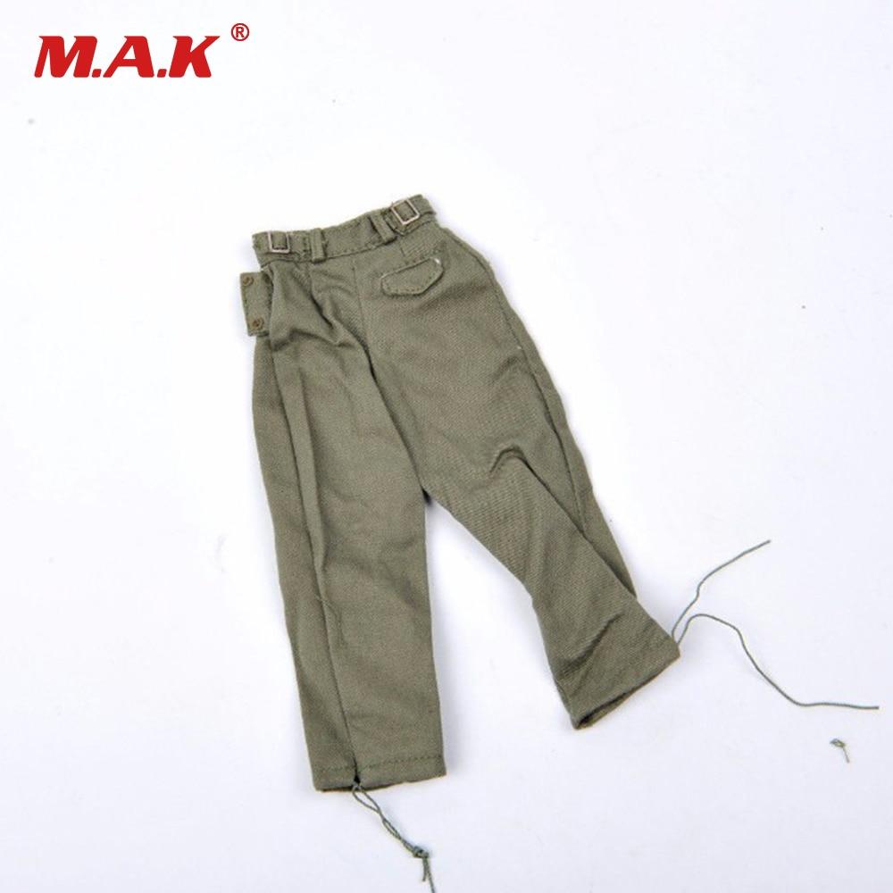 1 6 Pantalones Leggings Hombre Ropas Para 12 De Pulgada Dragon Disfraz De Cuerpo Masculino Soldado