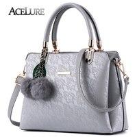 ACELURE Women Fur Handbags 2017 High Quality Printing Women Bags Women PU Leather Shoulder Messenger Bags