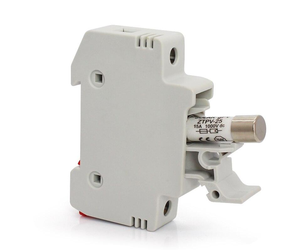 MISOL 1 unit of PV solar fuse 10A 1000VDC fusible 10x38 gPV//PV-Solar-Sicherung 10A 1000VDC Schmelz 10x38 gPV