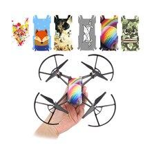 Peau de corps en PVC pour autocollants DJI TELLO Film de protection étanche pour accessoires de Drone DJI Tello