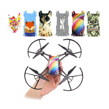 Revestimiento corporal de PVC para DJI TELLO, pegatinas, calcomanías, película protectora impermeable para DJI Tello, accesorios para Drones