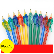 Fish Style Pupil Writing Posture Correcting Tool Soft Silicone Pencil Topper Device Student Stationery Pen Posture