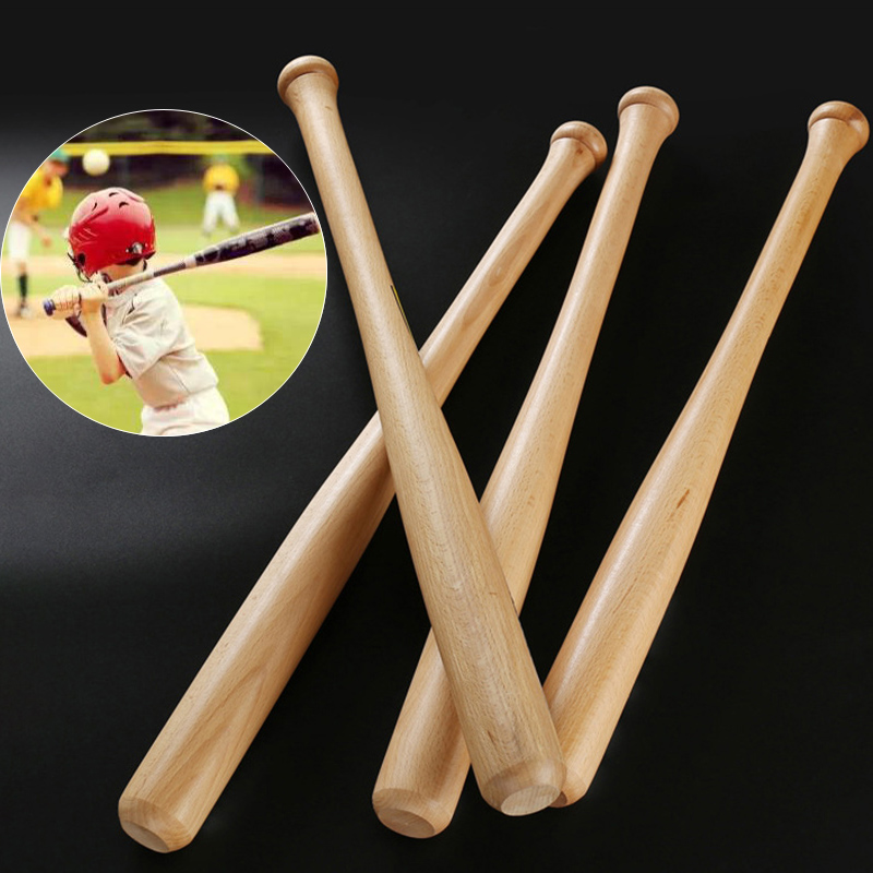 The Baseball Bat Fitness Body Heavy Duty Polishing 54cm Solid Wood For Bats Tochigi Career Bit Hardwood Sports Sport