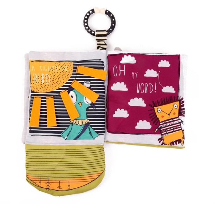 wholesale drop shipping Cloth Book Baby Kids Boys Girls Intelligence Development Educational Toys colourful photographs S23JUN5