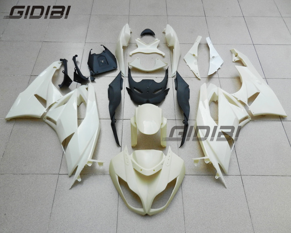 Unpainted ABS Injection Mold Bodywork Fairing Kit For 2009 2012 Kawasaki Ninja ZX6R ZX6 R 636 09 10 11 12 +4 Gift