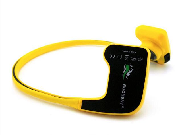 Conducción Ósea Auricular Deportes Reproductor de Mp3 DHL Envío Libre IPX68 10 M Impermeable y 8 GB de Memoria