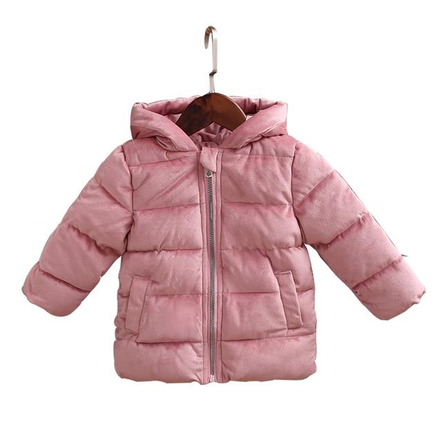 488ac3c8be48 PINKWIN Kids Winter Down Coat 2018 New Brand Baby Girl Winter ...