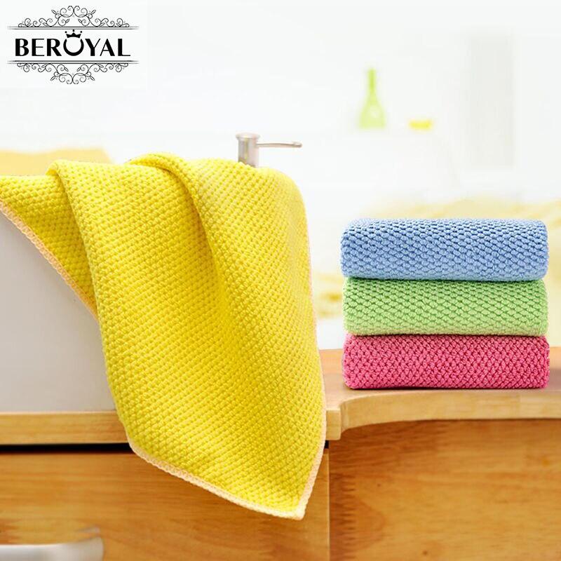 Small Towel: New 2017 Microfiber Towel Waffle Weave Kitchen Towel